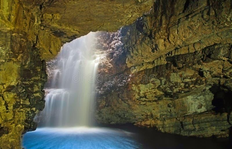 Cavernes de Smoo image libre de droits