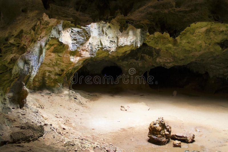 Caves of Aruba royalty free stock images
