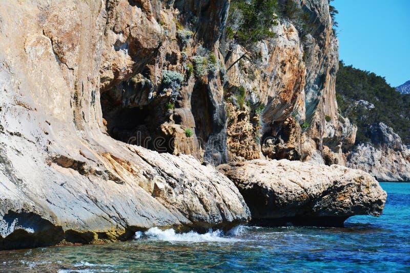 Caves and Sardinia, Italy stock photo