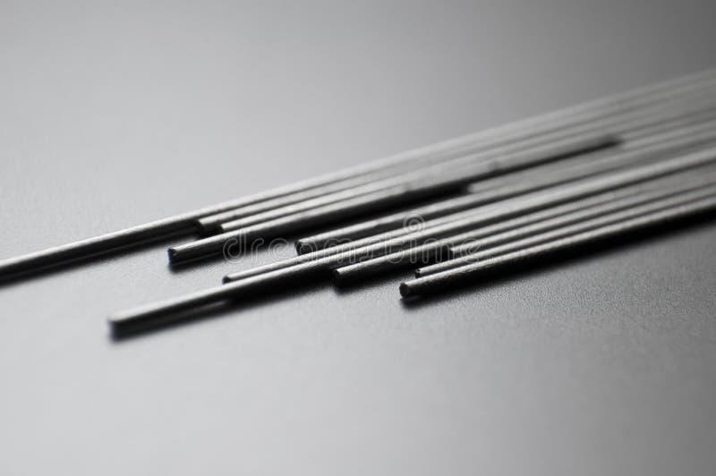 Cavi di matita fotografia stock