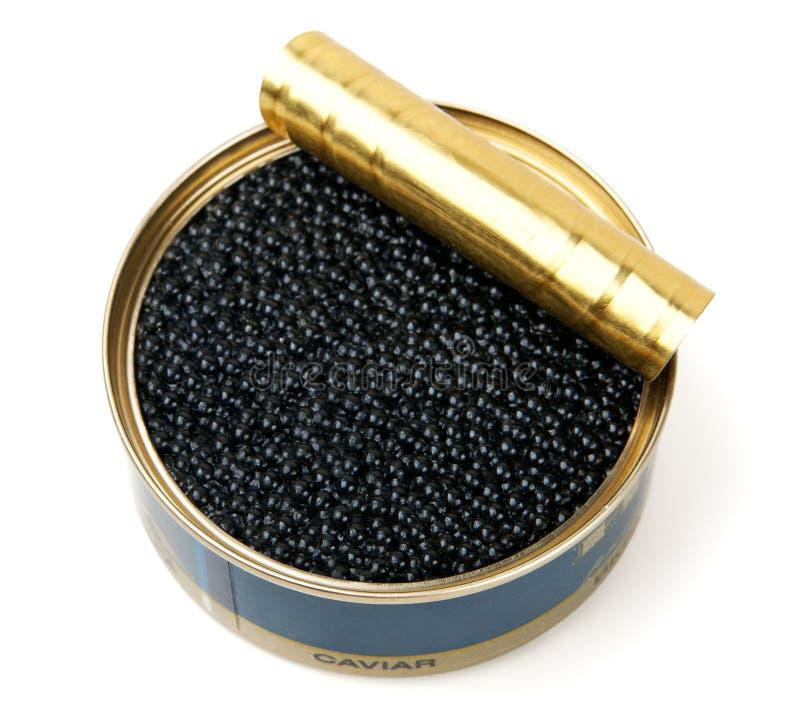 Caviale nero immagine stock