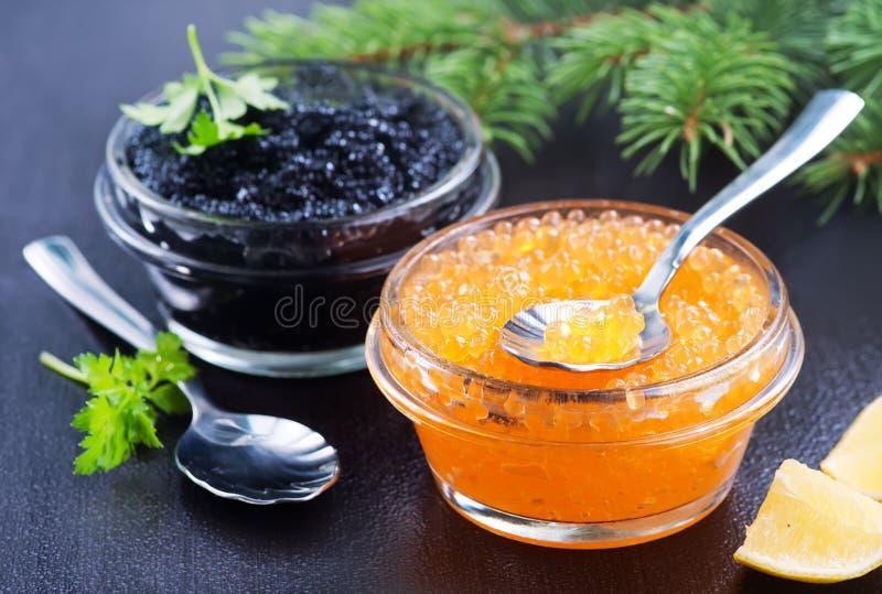 Caviar fotografia de stock royalty free