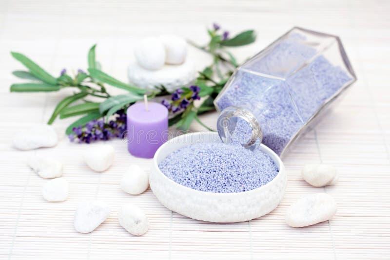 Caviar de bain de lavande photo stock