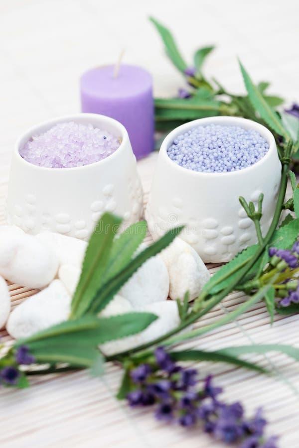 Caviar de bain de lavande image stock