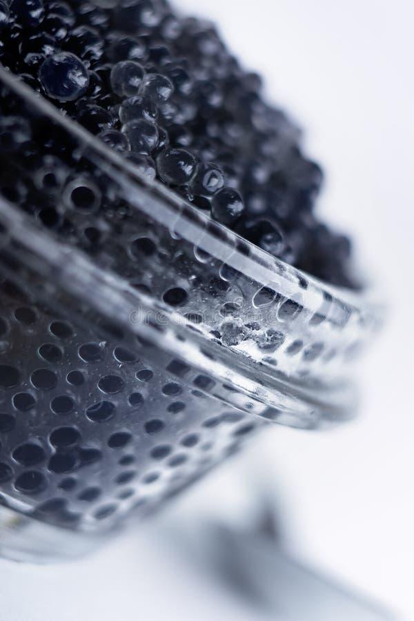 Caviar noir photos libres de droits