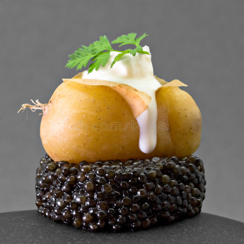 Download Caviar Potato stock image. Image of fresh, sevruga, sturgeon - 14878885