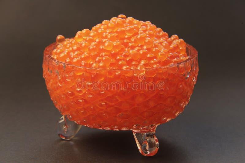 Caviar rojo 002 fotografía de archivo