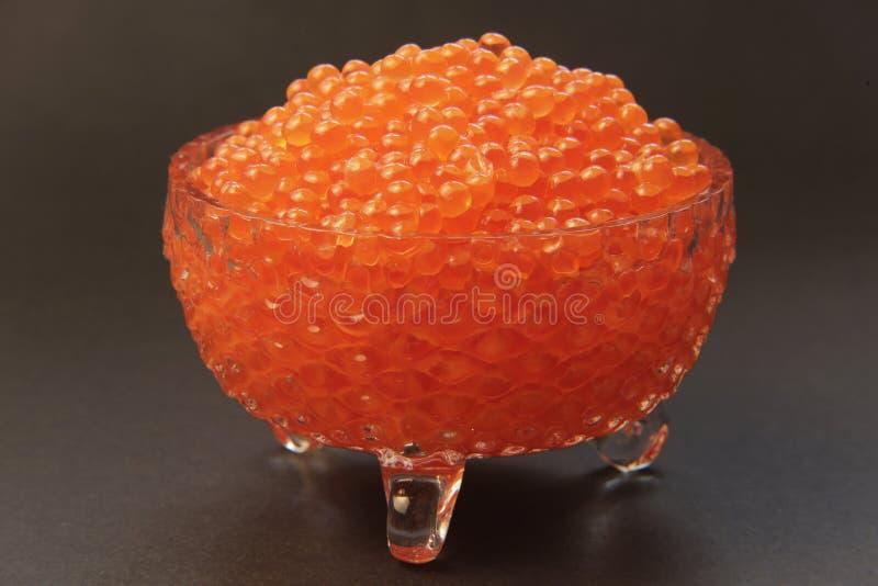 Caviar rojo 001 fotografía de archivo libre de regalías