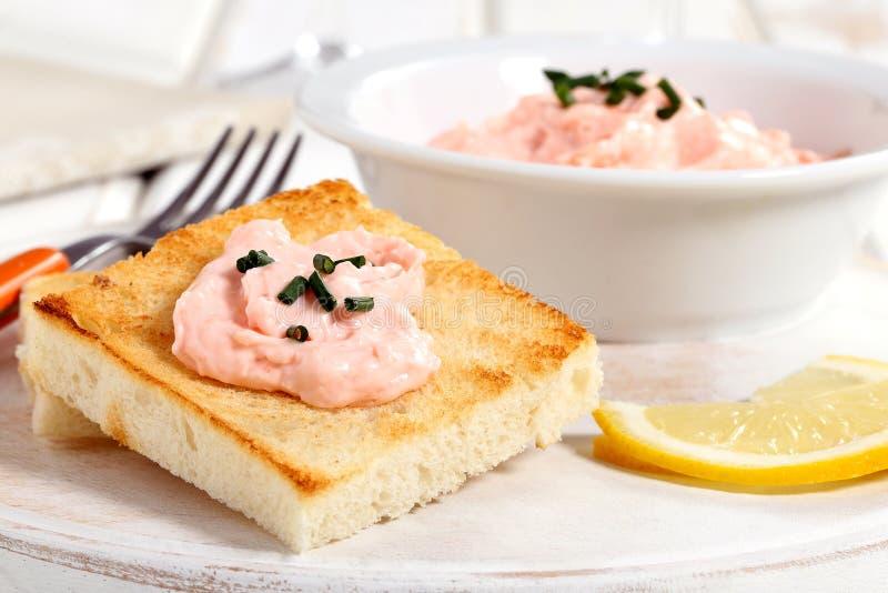 Download Caviar salad on toast stock photo. Image of life, dish - 32838256