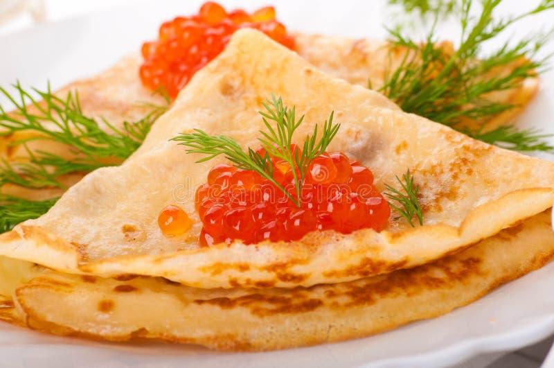 Caviar vermelho foto de stock