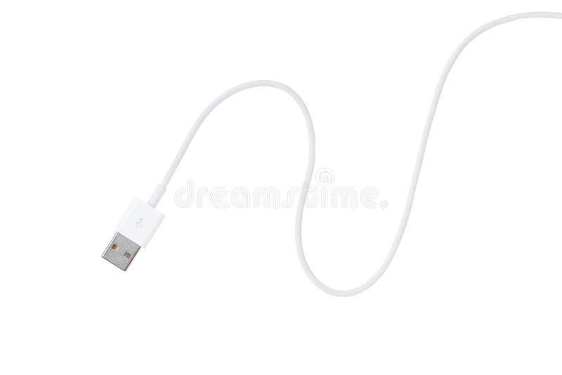 Cavo del USB fotografie stock