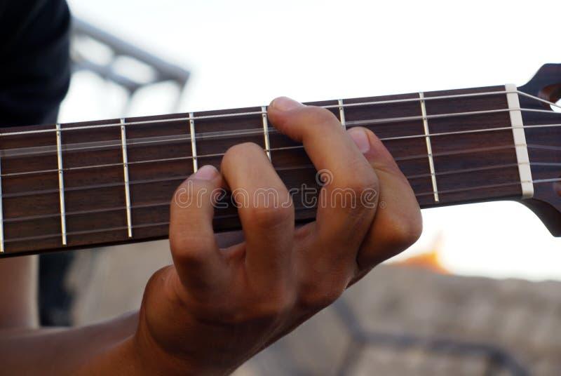 Cavo della chitarra fotografie stock libere da diritti
