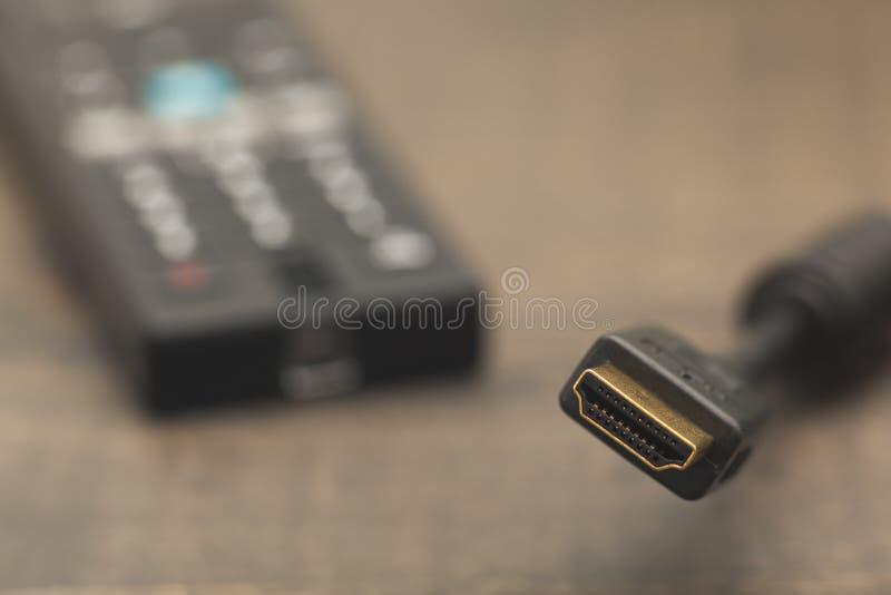 Cavo di HDMI fotografia stock
