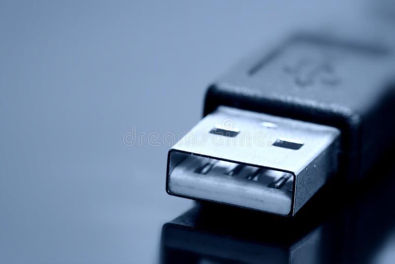 Cavo di USB fotografie stock libere da diritti