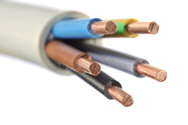 Cavo elettrico immagine stock