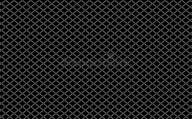 Cavo Mesh Black Background immagini stock
