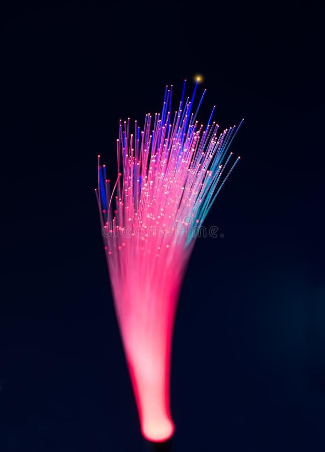 Download Cavo ottico della fibra immagine stock. Immagine di dati - 55359047