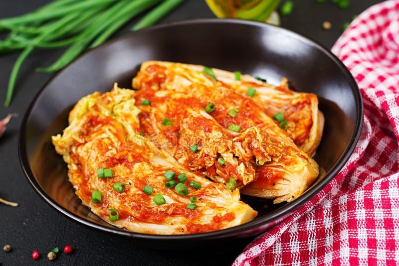 Cavolo cinese Cavolo di Kimchi immagini stock libere da diritti