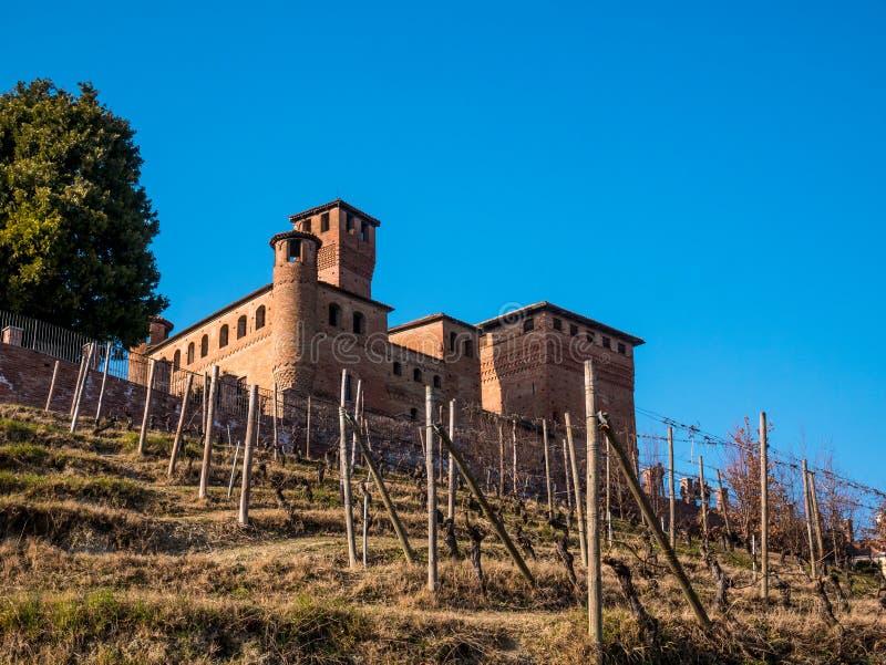 Cavour Castle stock photography