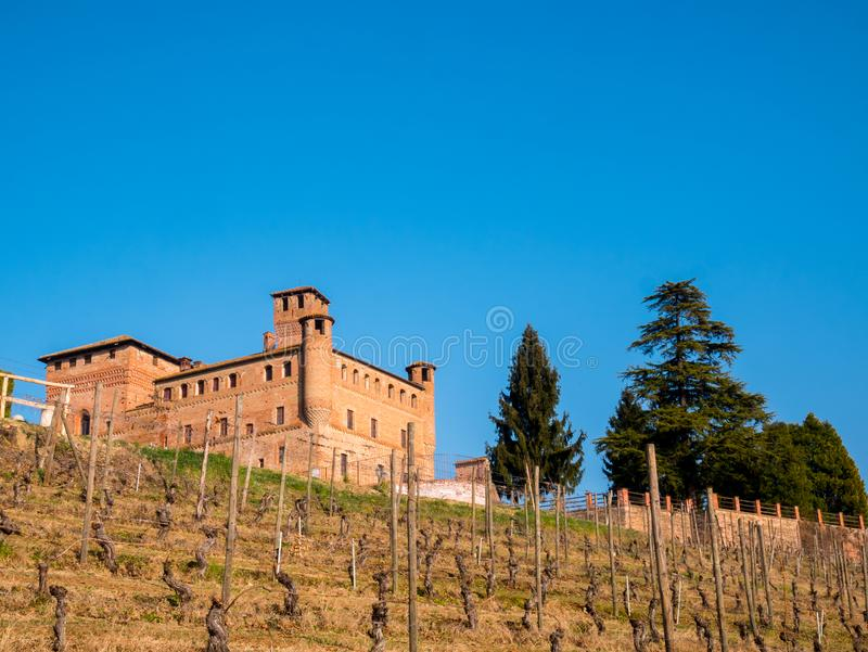 Cavour Castle royalty free stock photo