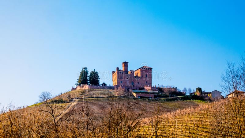 Cavour Castle royalty free stock images