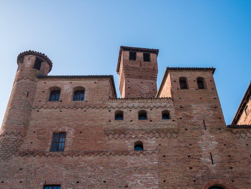 Cavour Castle stock photos