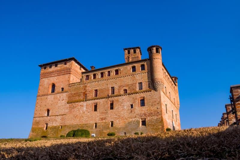 Cavour Castle royalty free stock photos