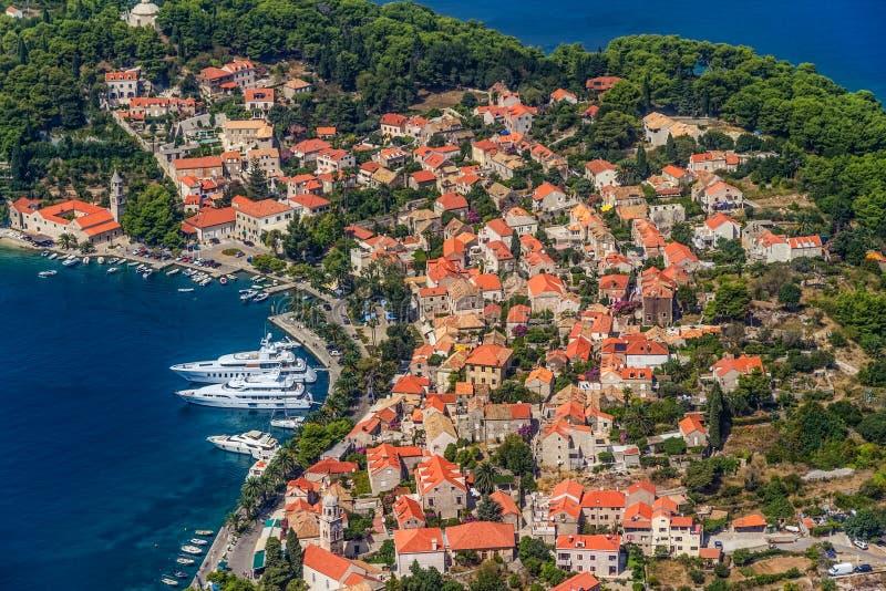 Cavtat, Croacia fotografía de archivo libre de regalías