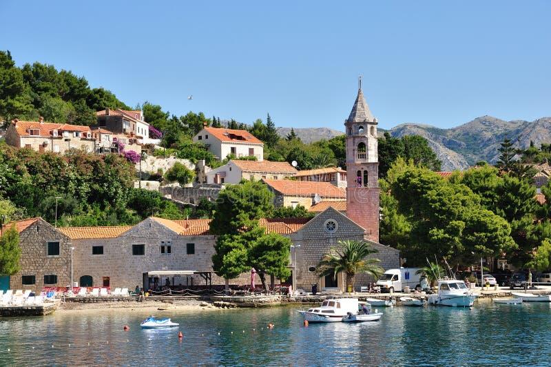 cavtat croatia royaltyfri foto