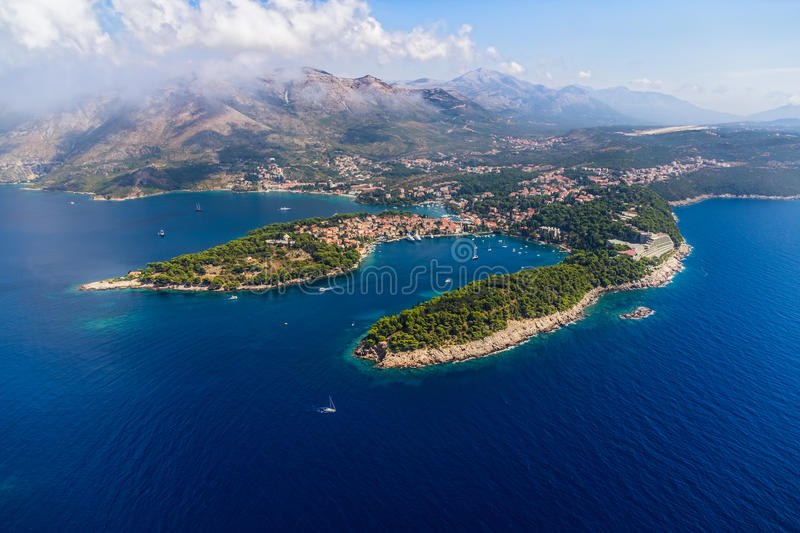 Download Cavtat, Croatia stock image. Image of dalmatia, lagoon - 33197655