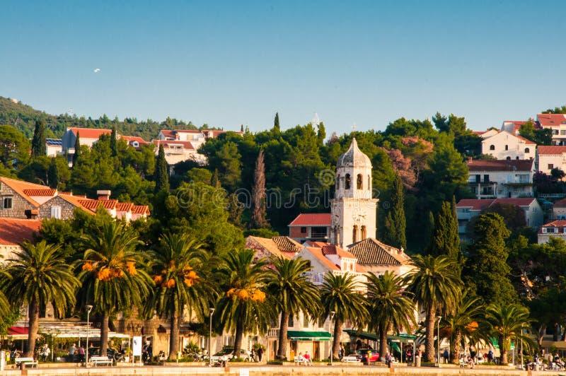 Cavtat, Kustdorp in Kroatië royalty-vrije stock fotografie