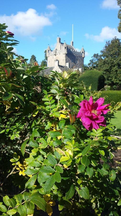 Cawdorkasteel, Schotland stock fotografie