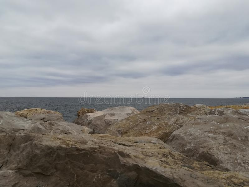 Caxias海滩 免版税图库摄影