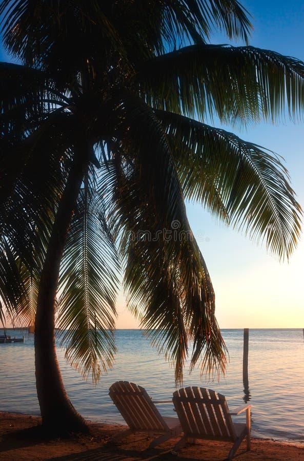Caye doszczelniacz Belize obrazy stock