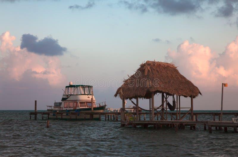 Caye doszczelniacz Belize zdjęcia royalty free