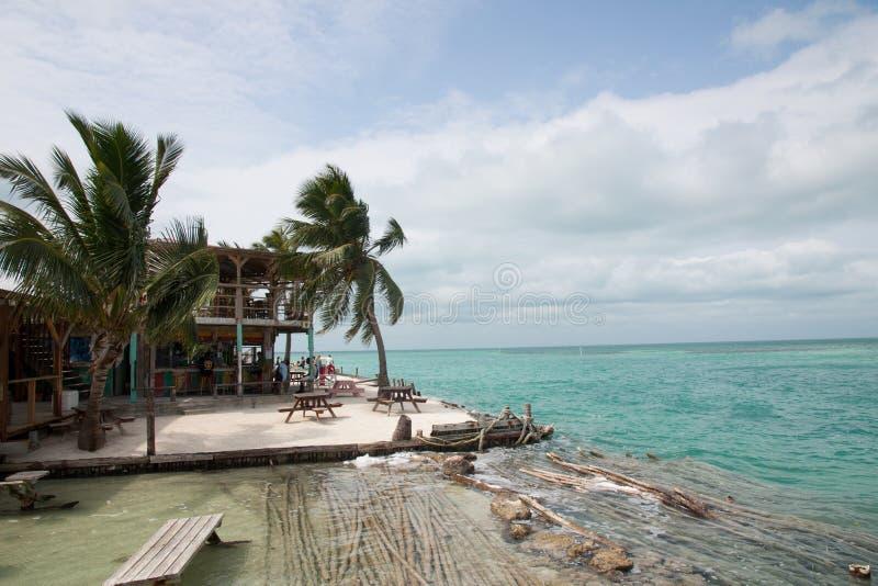 Cayebreeuwijzer, Belize stock foto
