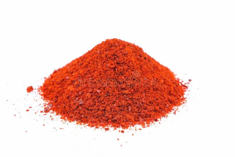 cayenne flakes pepper 库存图片