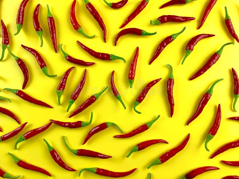 Cayenne peppers royalty free stock images