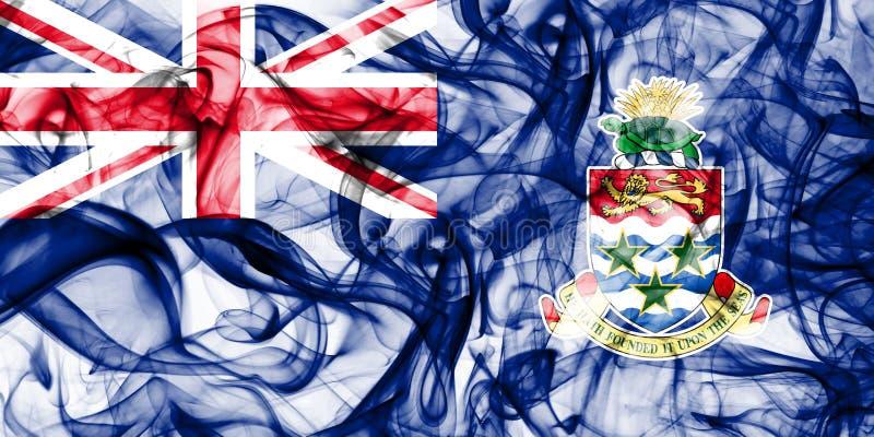 Caymanöarna röker flaggan, beroende territoriet flagga för brittiska utländska territorier, det Britannien arkivfoto