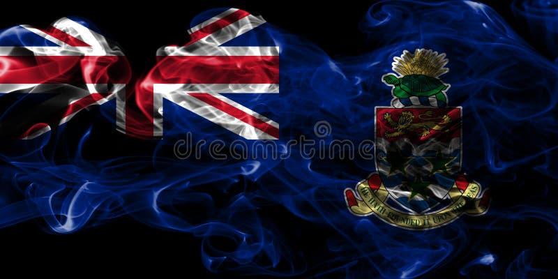 Caymanöarna röker flaggan, beroende territoriet flagga för brittiska utländska territorier, det Britannien royaltyfri illustrationer