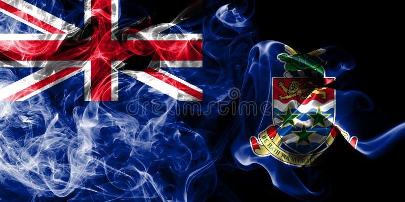Caymanöarna röker flaggan, beroende territoriet flagga för brittiska utländska territorier, det Britannien vektor illustrationer