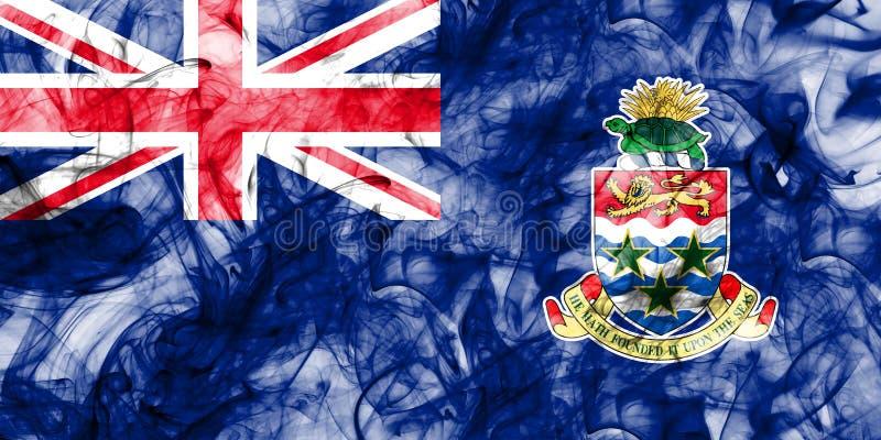 Caymanöarna röker flaggan, brittiska utländska territorier, Britannien royaltyfri illustrationer