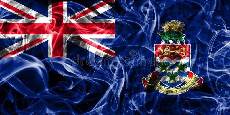 Caymanöarna röker flaggan, brittiska utländska territorier, Britannien vektor illustrationer