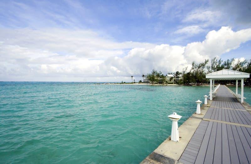 cayman θέρετρο νησιών αλιείας στοκ εικόνα