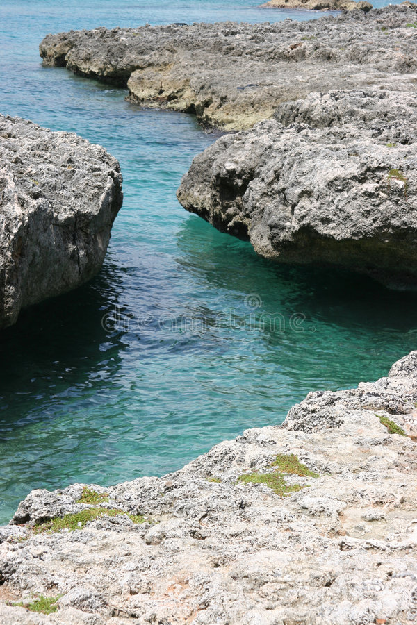 Cayman Coast royalty free stock photography