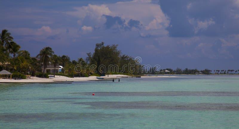 Cayman Islands punktrom royaltyfria foton