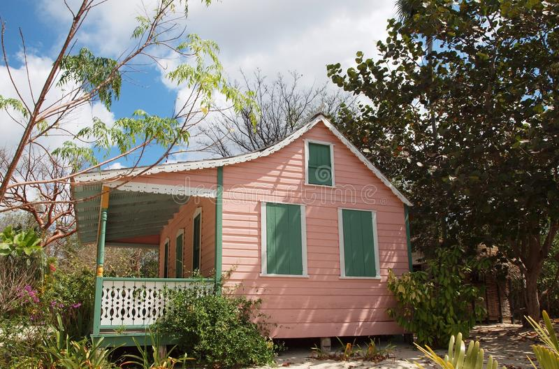 Cayman Islands Traditional Cottage royalty free stock photos