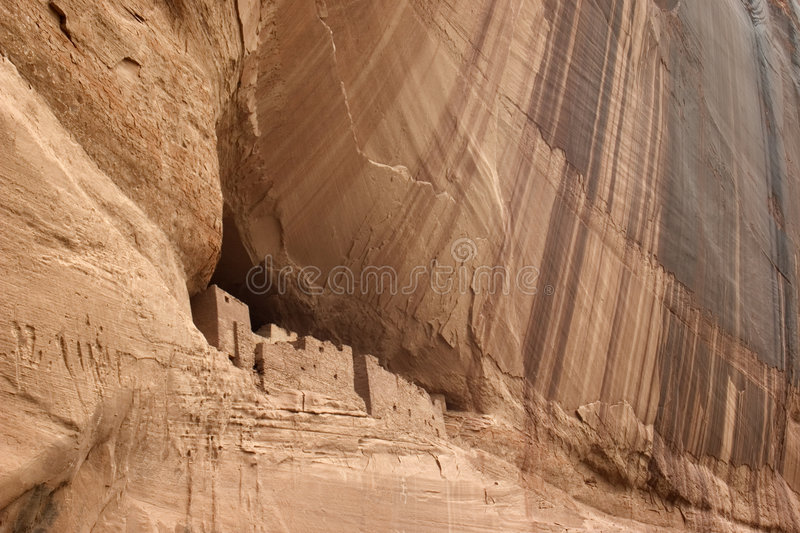 Caynon De Chelly, National Monument royalty free stock photos