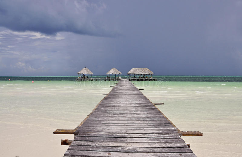 Cayo Coco in Cuba stock photography