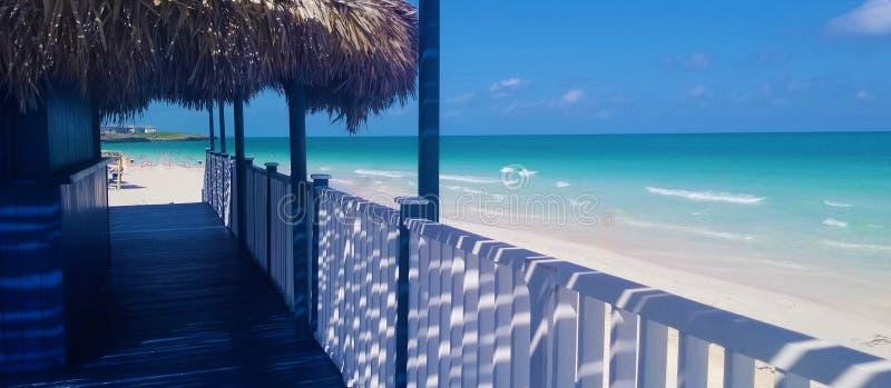 Cayo Coco, Kuba - bedöva havsikter royaltyfri foto